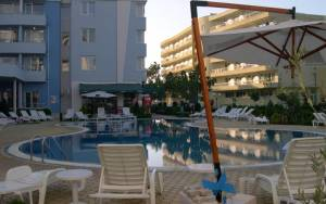 Laguna 1 in Sunny Beach - Furnished holiday apartment - with one bedroom - big roof terrace