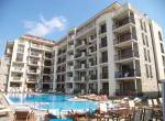 Cascadas 1 - Holiday apartment on the 4. floor - view to the swimming pool - attractive holiday complex