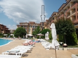 Magic Dreams - 2 bedroom holiday apartment on 123 m2 - View to the swimming pool and the BlackSea