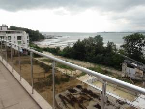 Residential topfloor apartment with view to the Black Sea - Central location - Only 100 meters to a sandy beach
